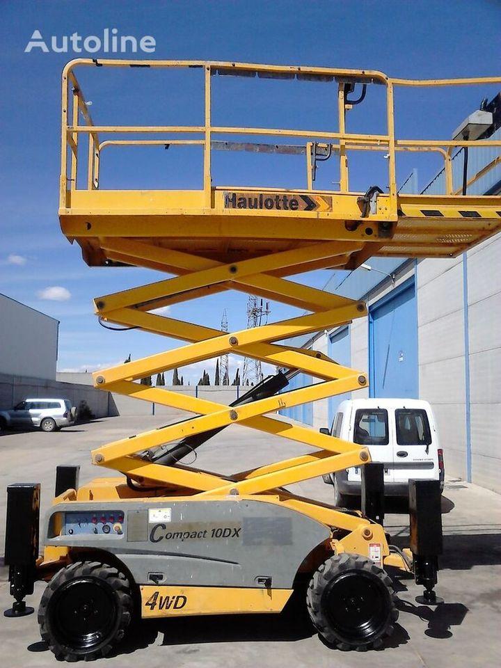 plataforma de tijeras HAULOTTE Compact 10 DX