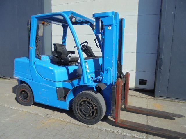 carretilla elevadora cuatro ruedas Hyster 4,5 Ton Diesel Triplo container specs.