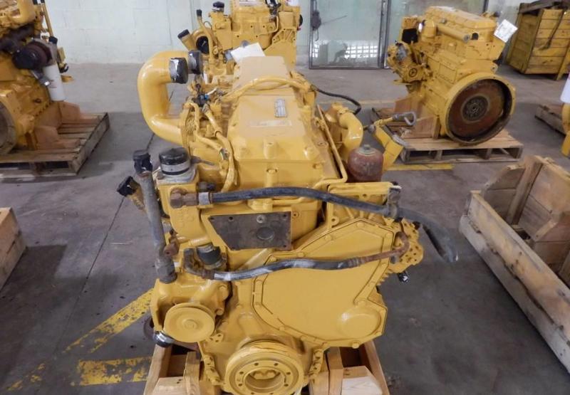 motor Caterpillar 3126