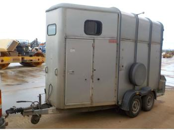 Ifor Williams Twin Axle Horse Box Trailer, Ramp - remolque transporte de ganado