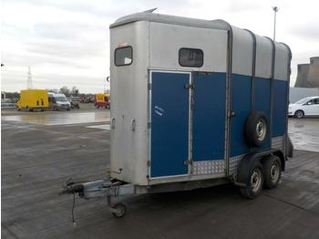 Ifor Williams Twin Axle Horse Trailer - remolque transporte de ganado