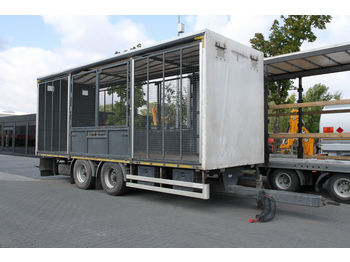 Remolque transporte de ganado TRANSPORT OF ANIMALS/BIRDS/ HEN/18 T KONAR JG