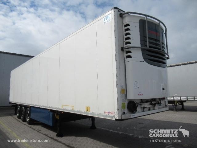 semirremolque caja cerrada SCHMITZ Auflieger Tiefkühler Fleischhang