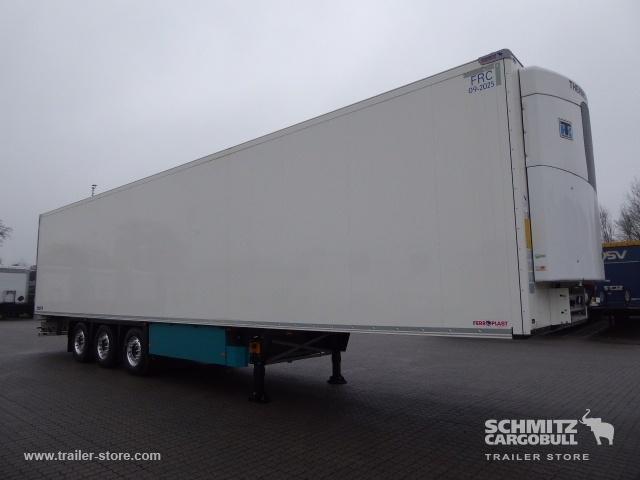 semirremolque caja cerrada SCHMITZ Auflieger Tiefkühler Multitemp Double deck