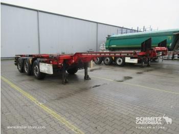 Semirremolque portacontenedore/ intercambiable KRONE Auflieger Containerfahrgestell Slider