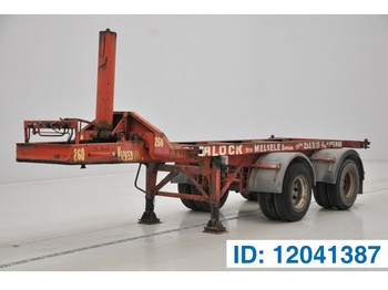 Semirremolque portacontenedore/ intercambiable MOL 20 ft - spring suspension