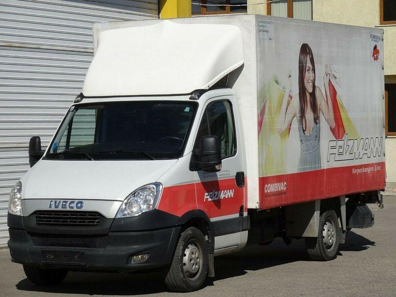 ed6ca842649fbf Anuncio de furgoneta con caja de lona Iveco Daily 35S15
